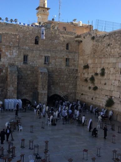 Western Wall- Jewish people pray