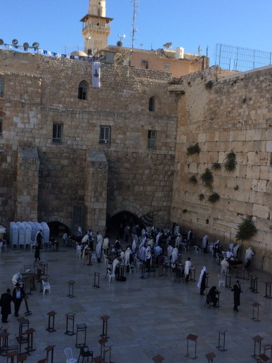 Western Wall- Jewish people pray